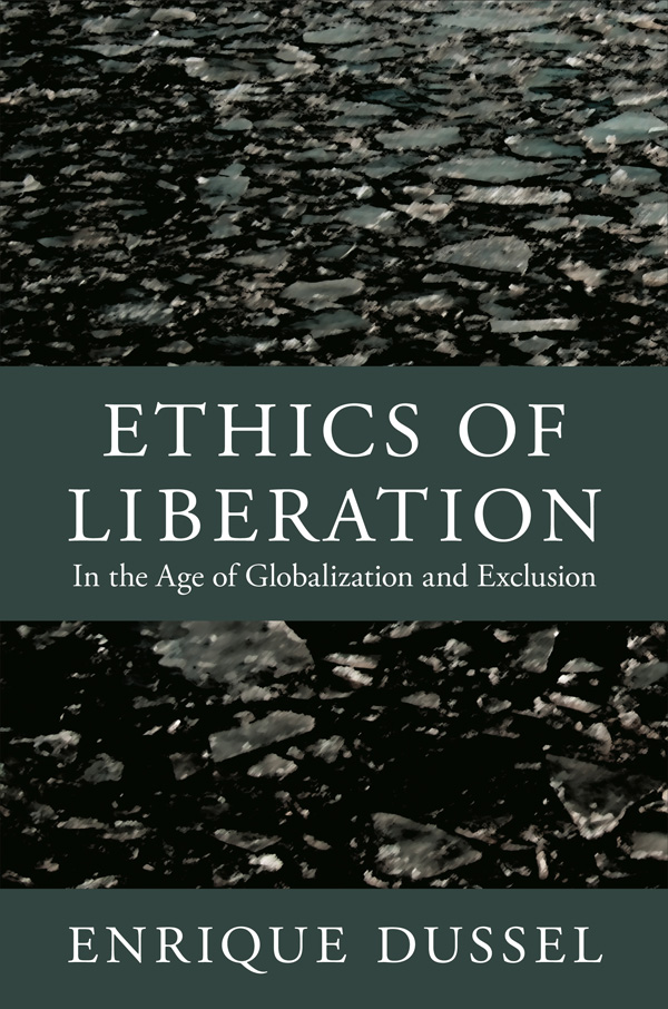 cover:  Ethics of Liberation