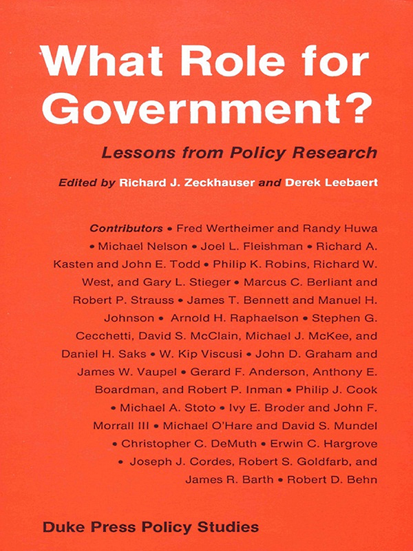 What Role for Government?