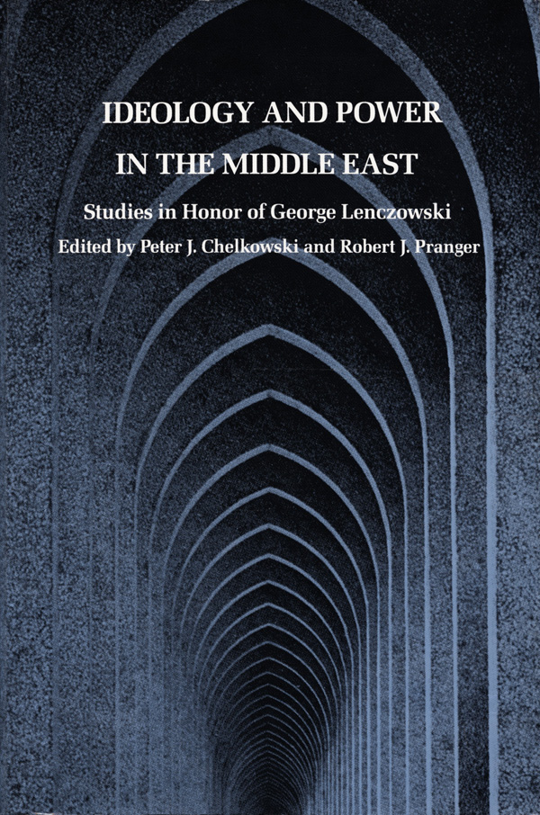 Ideology and Power in the Middle East