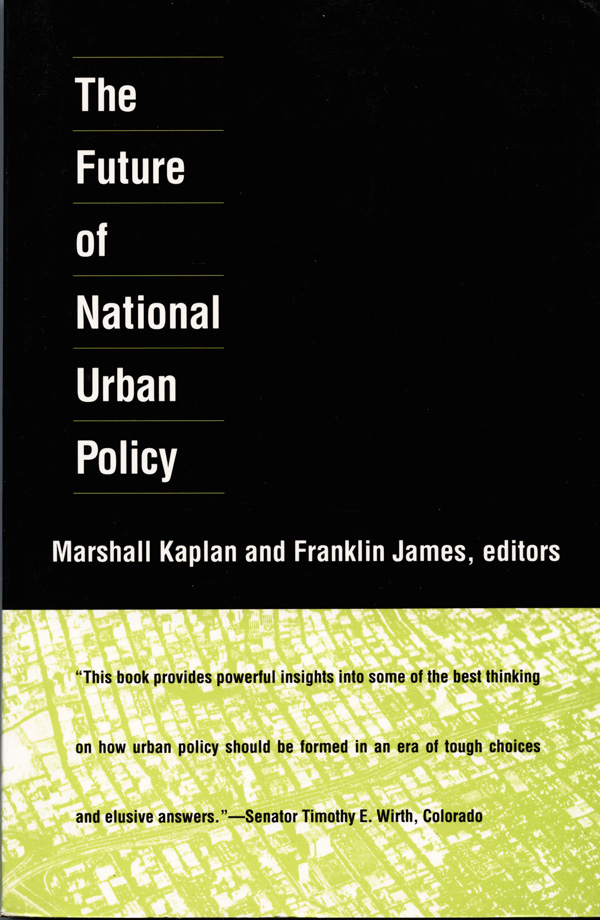The Future of National Urban Policy