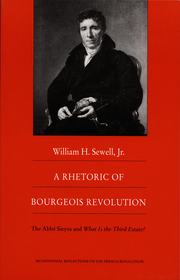 A Rhetoric of Bourgeois Revolution