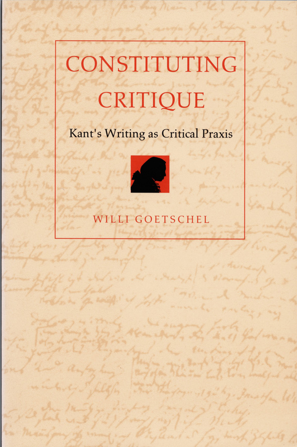 Constituting Critique