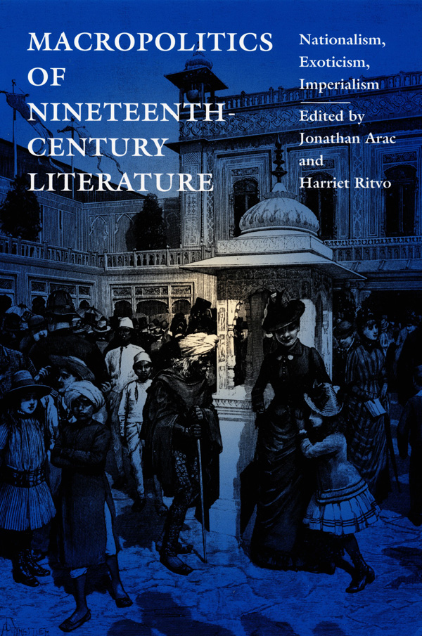 Macropolitics of Nineteenth-Century Literature