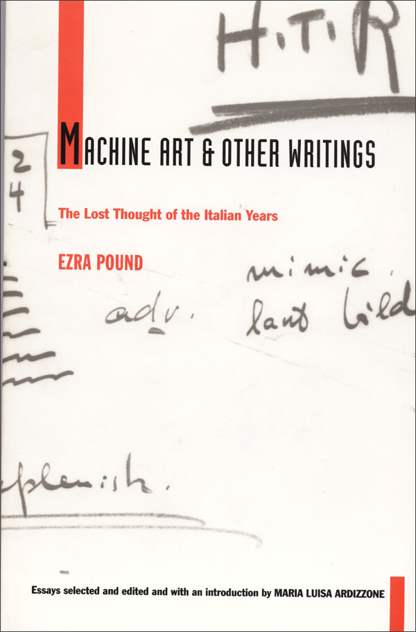 Machine Art and Other Writings