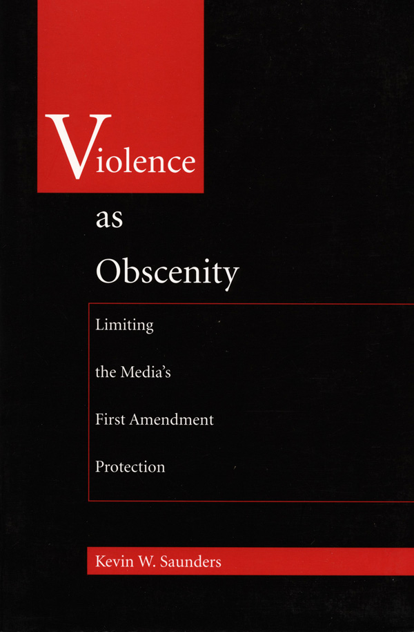 Violence As Obscenity