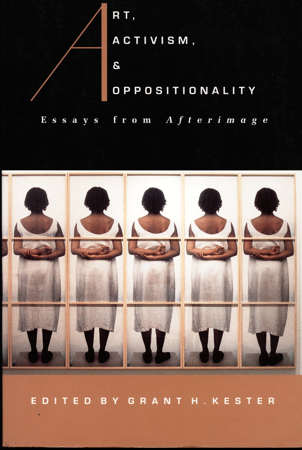 Art, Activism, and Oppositionality