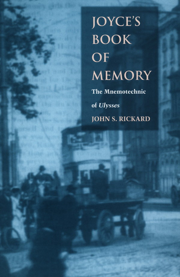 Joyce′s Book of Memory