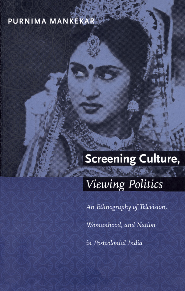 Screening Culture, Viewing Politics
