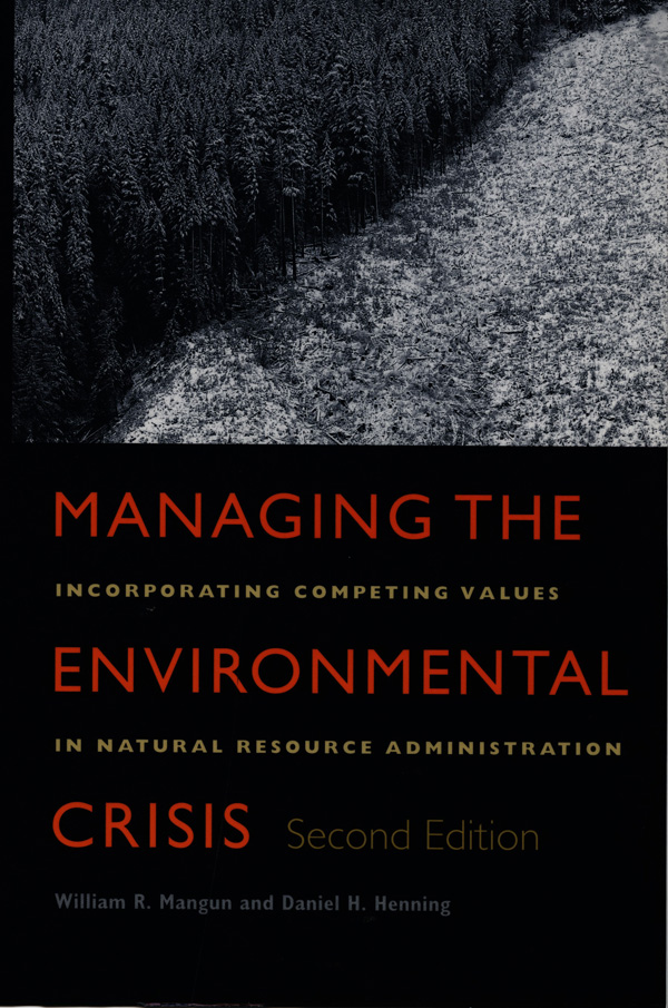 Managing the Environmental Crisis