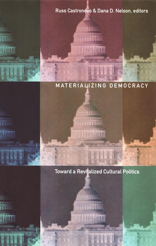 Materializing Democracy