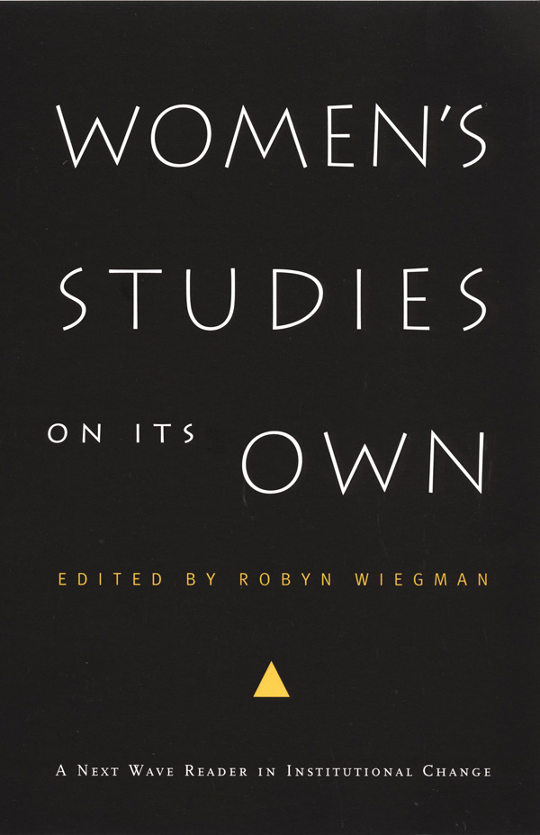Women′s Studies on Its Own