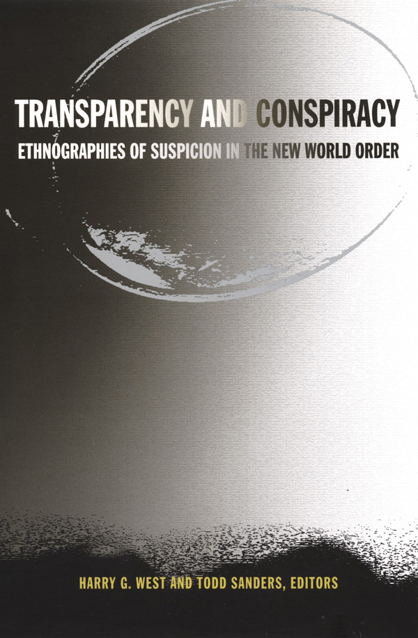 Transparency and Conspiracy
