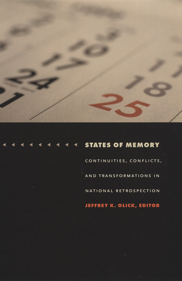 States of Memory