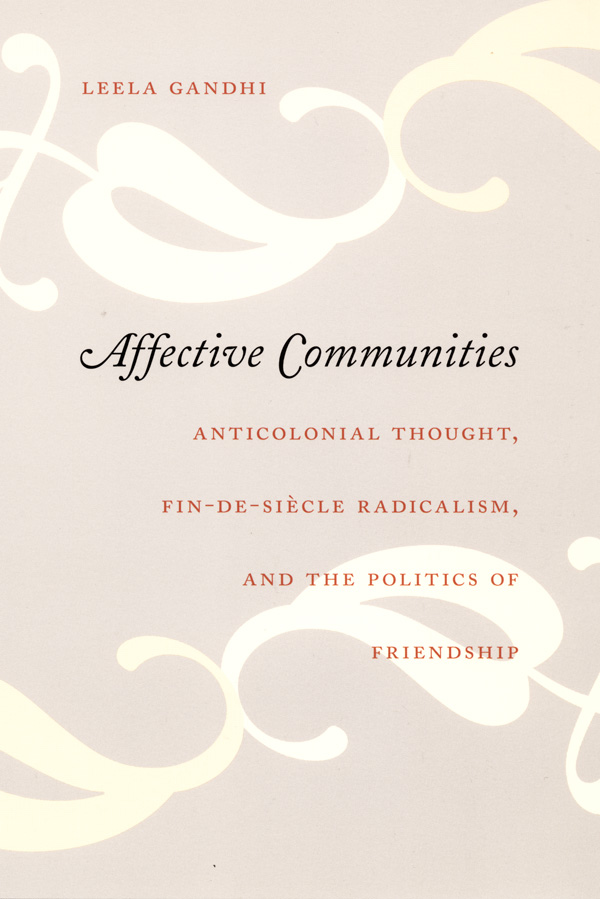 Affective Communities