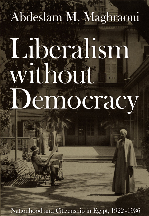 Liberalism without Democracy