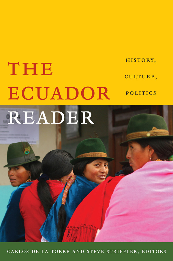 The Ecuador Reader