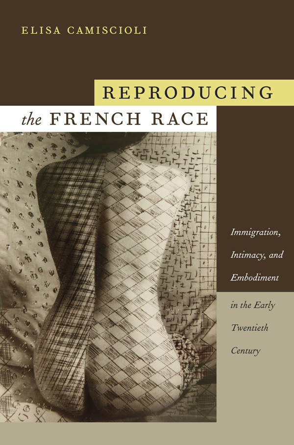 Reproducing the French Race