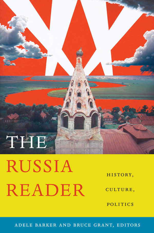 Duke University Press - The Russia Reader