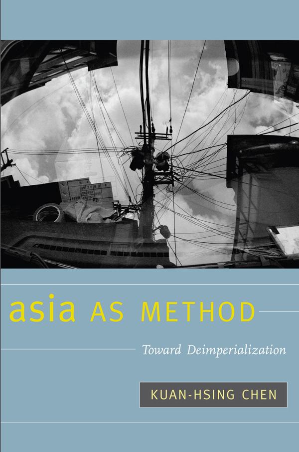 Asia as Method