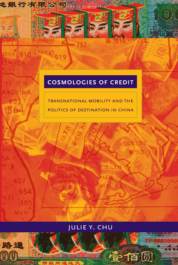 Cosmologies of Credit