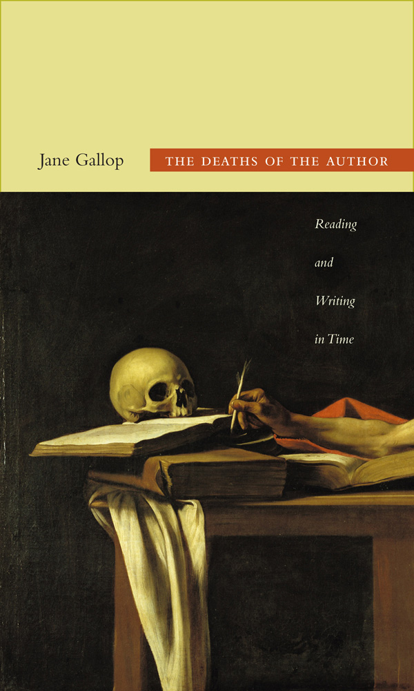 The Deaths of the Author