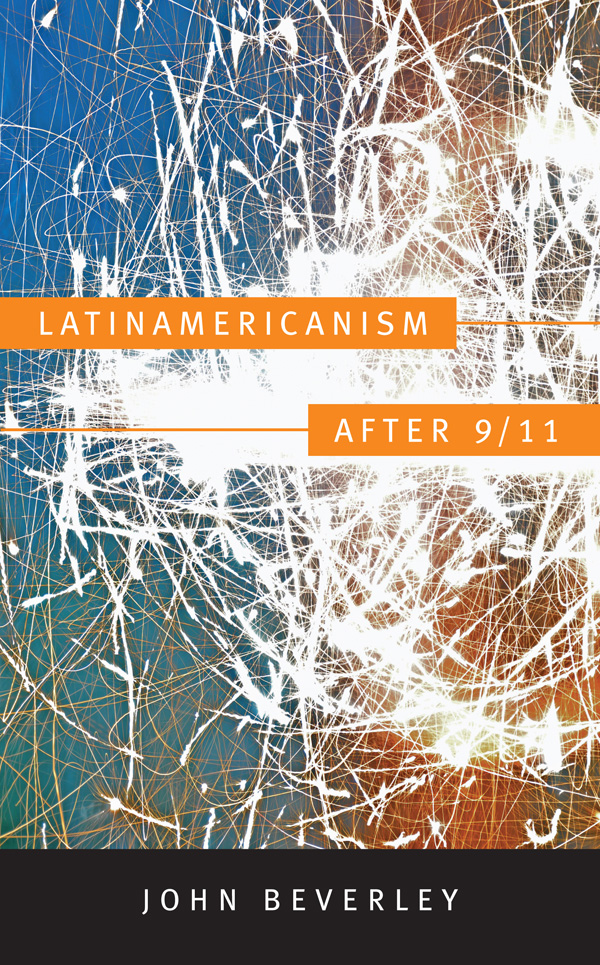 Latinamericanism after 9⁄11