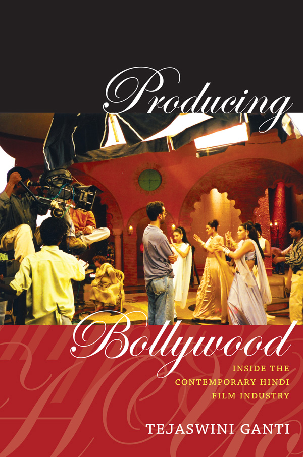 Producing Bollywood
