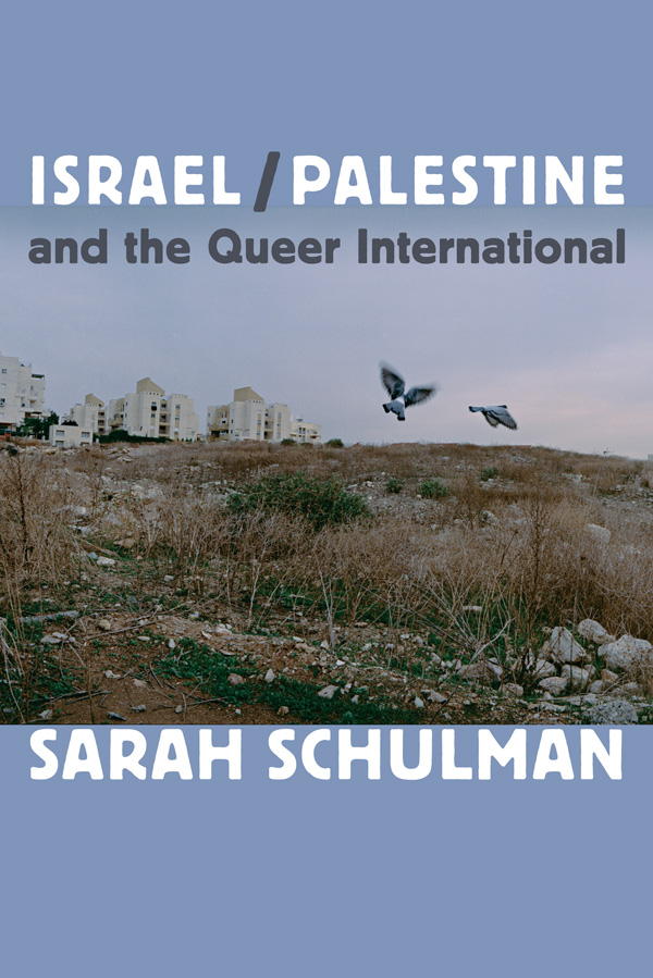 Israel⁄Palestine and the Queer International