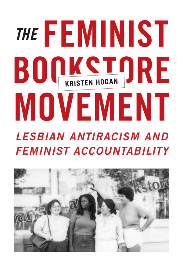 The Feminist Bookstore Movement