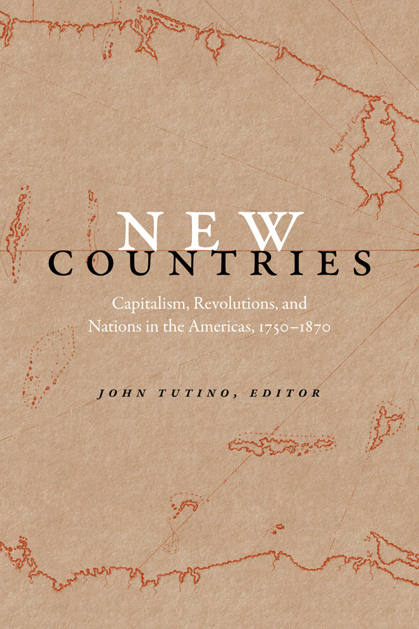 Tutino, New Countries book cover
