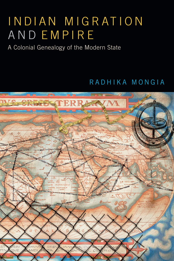 Indian Migration and Empire