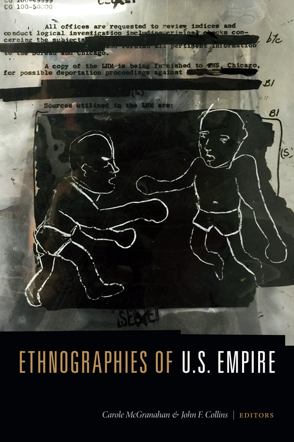 Ethnographies of U.S. Empire