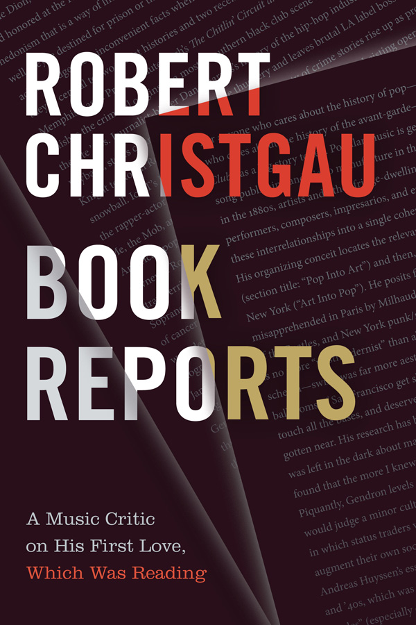 Book Reports: A Music Critic on His First Love, Which Was Reading - New