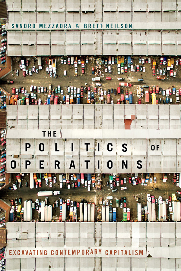The Politics of Operations