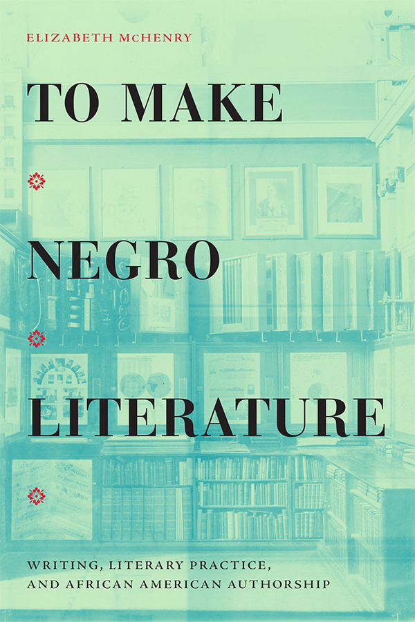 To Make Negro Literature