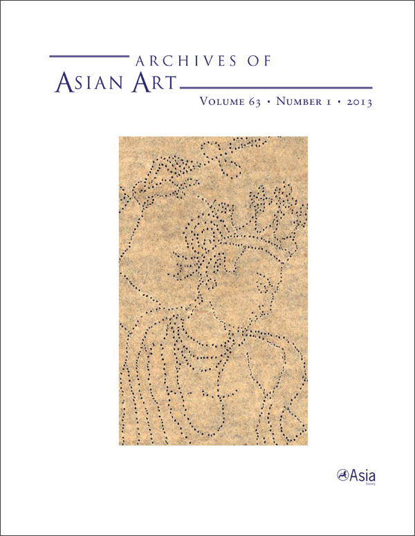 Archives of Asian Art 63:1631