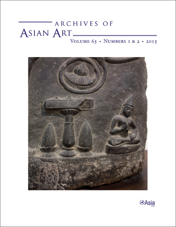 Archives of Asian Art 65:1-2