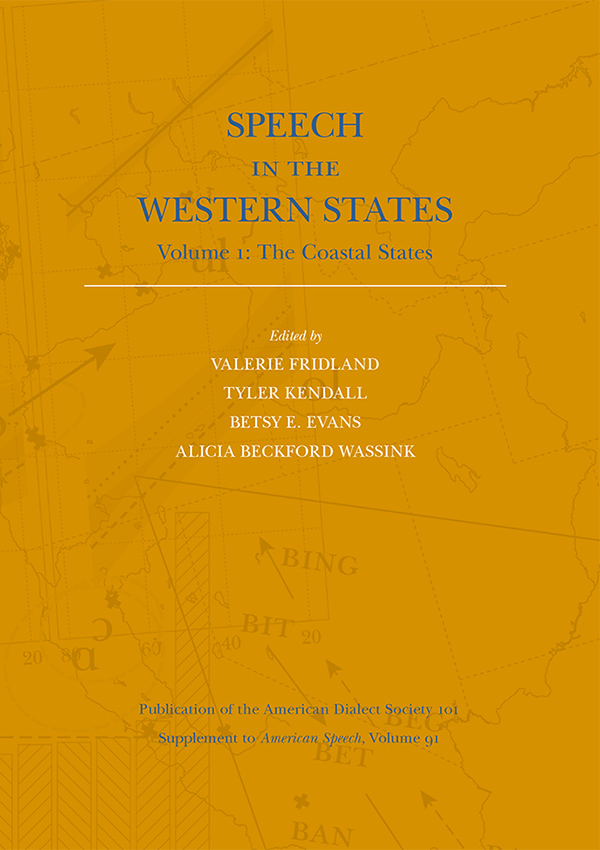 Speech in the Western States, Vol. 1, The Coastal States915