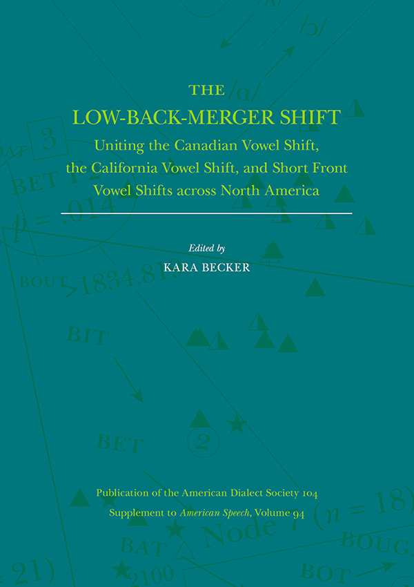 The Low-Back-Merger Shift945