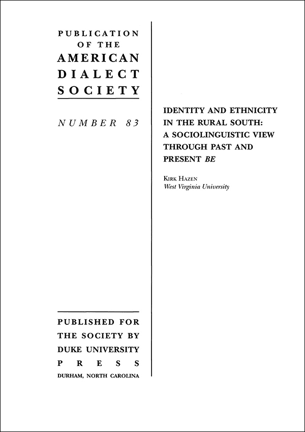 Identity and Ethnicity in the Rural South 745