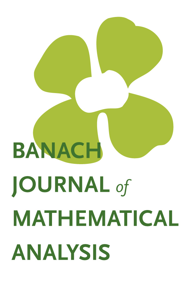 Banach Journal of Mathematical Analysis