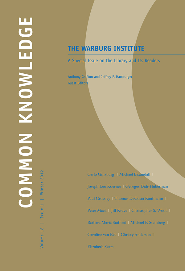 The Warburg Institute181