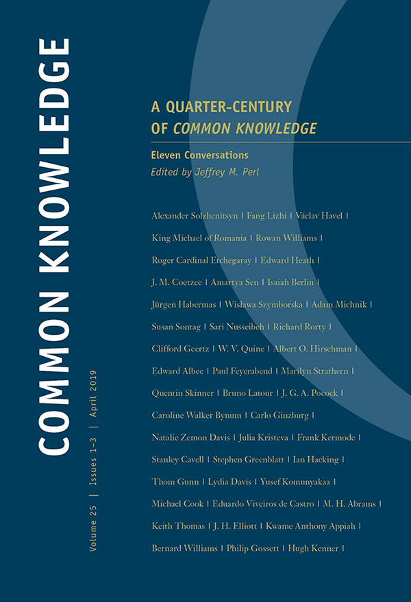 A Quarter-Century of Common Knowledge - New