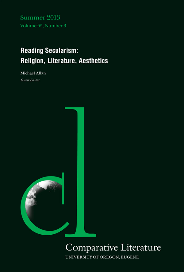 Reading Secularism: Religion, Literature, Aesthetics653