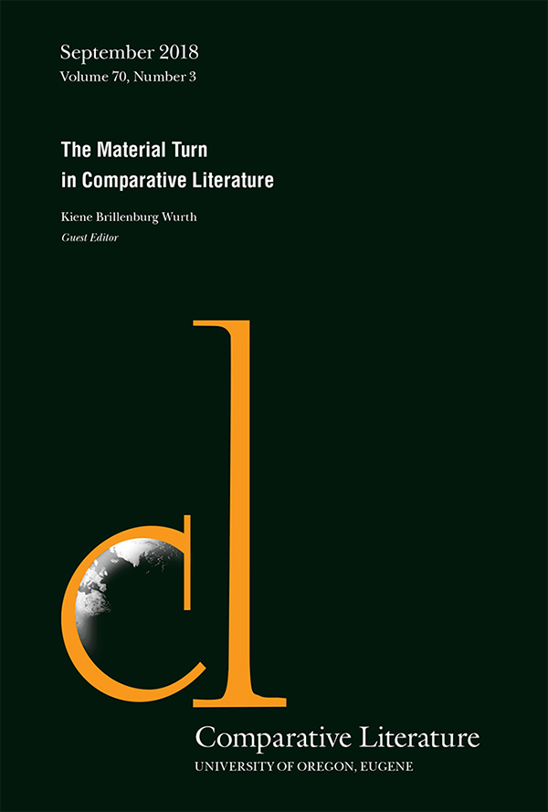 The Material Turn in Comparative Literature703