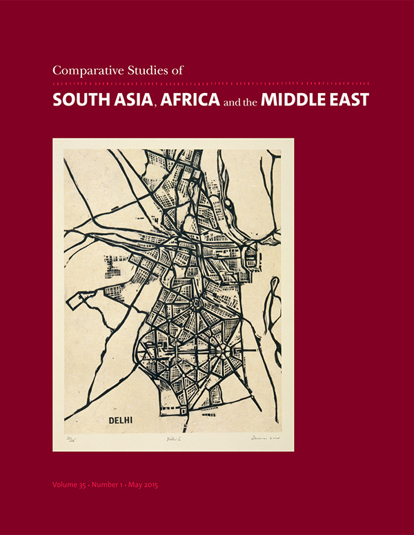 Comparative Studies of South Asia, Africa and the Middle East 35:1351