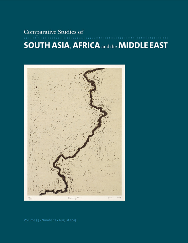 Comparative Studies of South Asia, Africa and the Middle East 35:2352