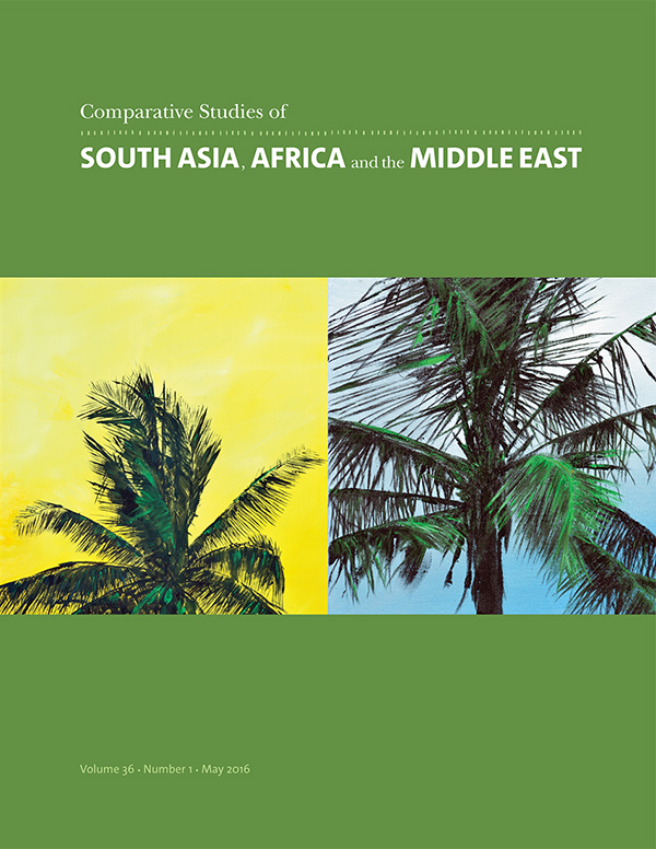 Comparative Studies of South Asia, Africa and the Middle East 36:1361