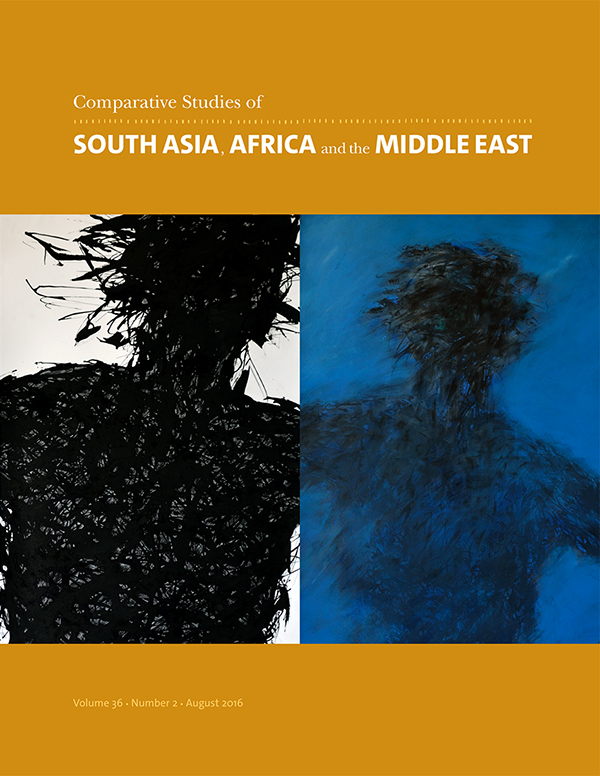 Comparative Studies of South Asia, Africa and the Middle East 36:2362
