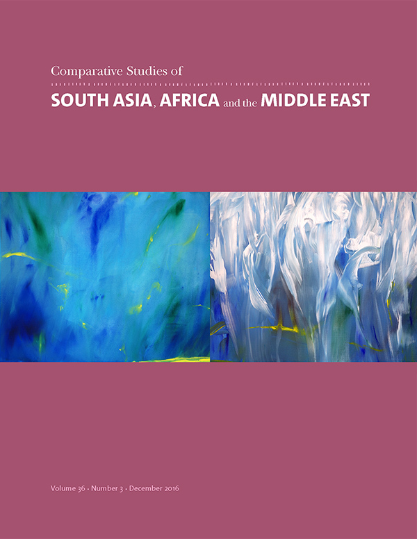 Comparative Studies of South Asia, Africa and the Middle East 36:3363